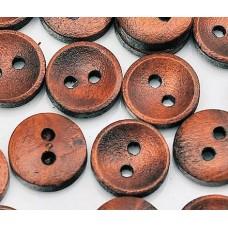 Маленькие деревянные пуговки окрашенные.