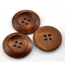 Большая кофейная деревянная