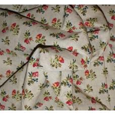 "Купить лен ткань ""Бутон розы""."