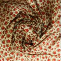 """Хлопок ткань """"Роза любви""""."""